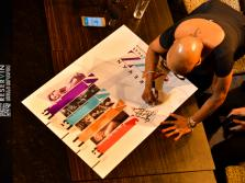 Dee Dee Bridgewater's press conference at Mezzo..