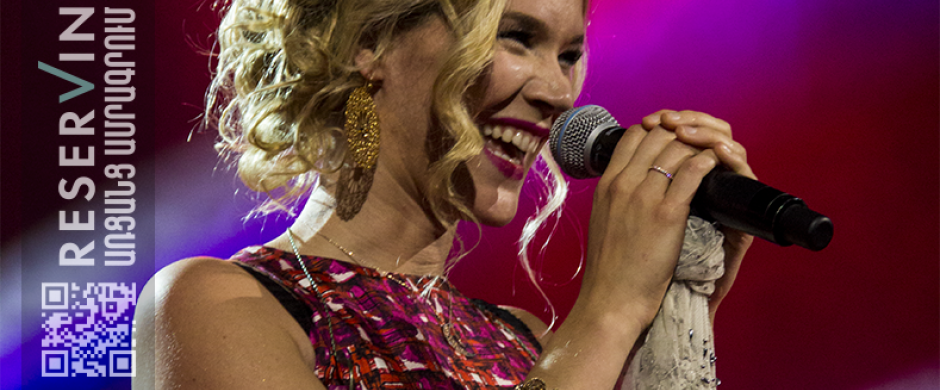 Joss Stone's concert as the final part of the Yerevan Jazz Fest 2016
