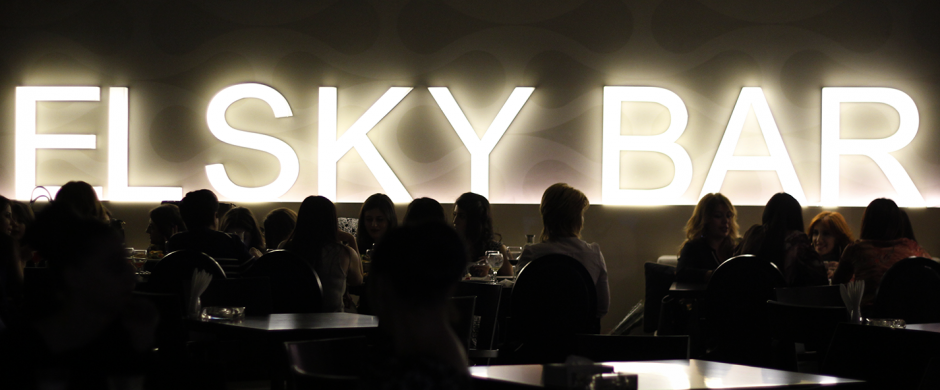 Old new year in El Sky Bar