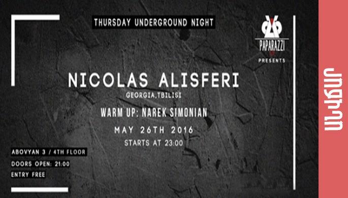 Nicolas Alisferi at Paparazzi Club