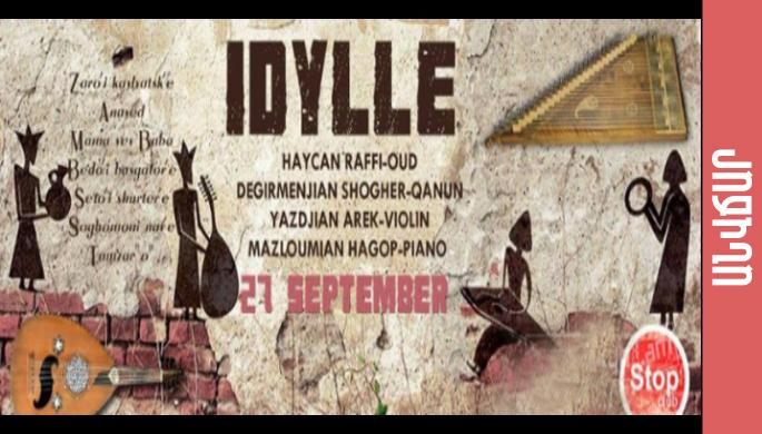 Idylle at Stop club