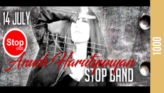 Anush Harutyunyan with Stop Band