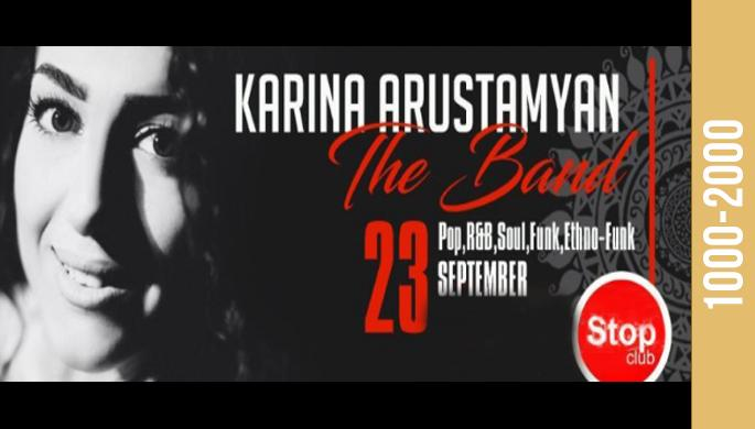 Karina Arustamyan & The Band at Stop
