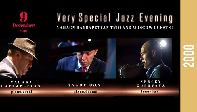 Live Jazz Christmas Night with Vahagn Hayrapetyan Jazz Trio