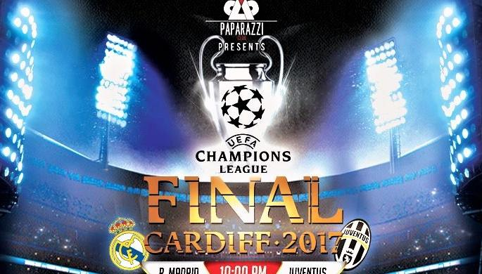 UEFA Champions Final at Paparazzi Club