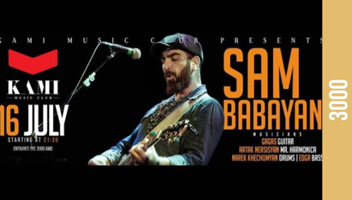 Sam Babayan live at KAMI M.C.
