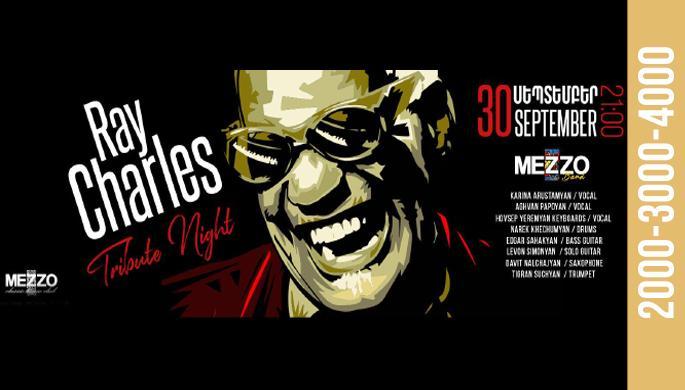 Ray Charles Tribute Night at Mezzo