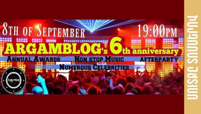Argamblog's 6th anniversary