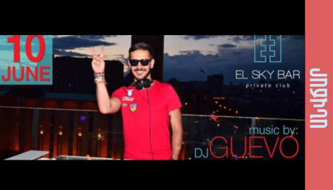 DJ Guevo at El Sky bar