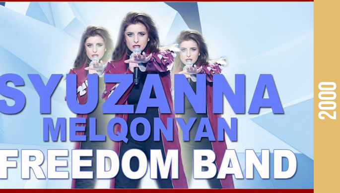 Syuzanna Melqonyan and Freedom Band at Yans Music Hall
