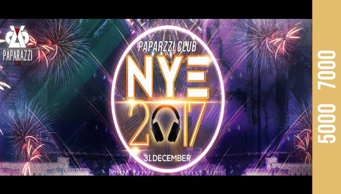 New Year Party at Paparazzi Club