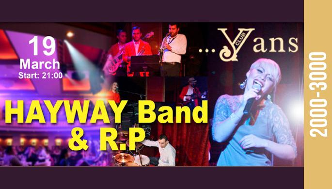Hayway Band and R.P. at Yans Music Hall