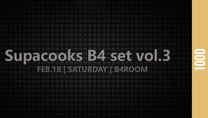 Supacooks b4 set vol.3