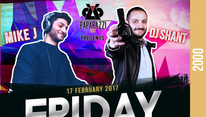 Friday Night at Paparazzi