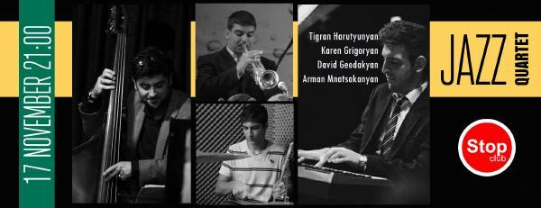 Jazz Quartet at Stop Club