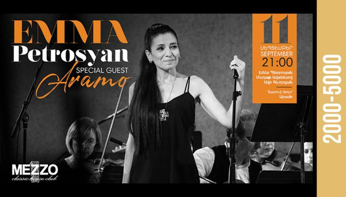 Emma Petrosyan at Mezzo!