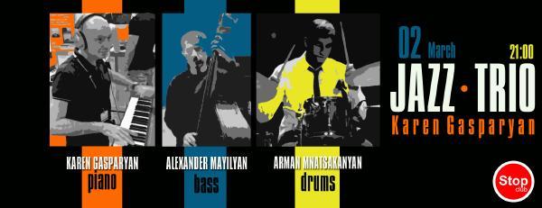 Karen Gasparyan Jazz Trio