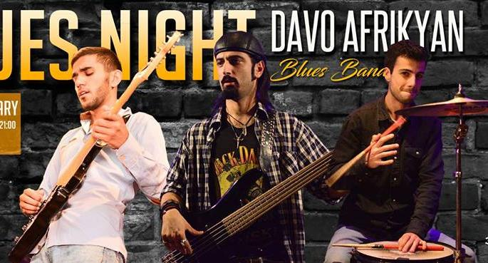 Blues Night by Davo Afrikyan