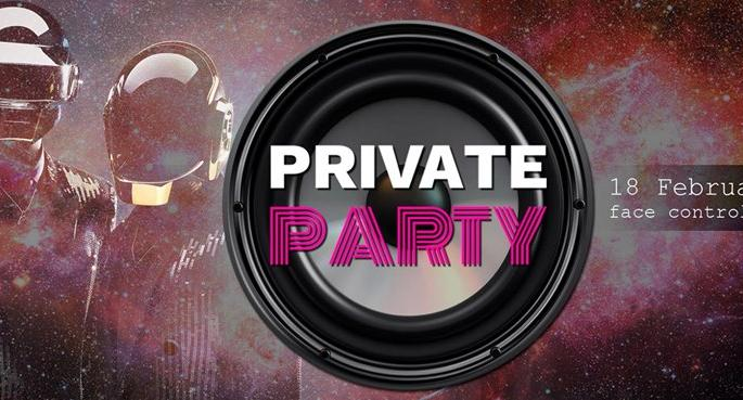 Private Saturday Party