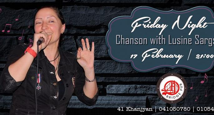 Chanson Friday: Lusine Sargsyan