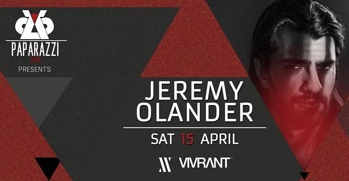 Jeremy Olander at Paparazzi Club