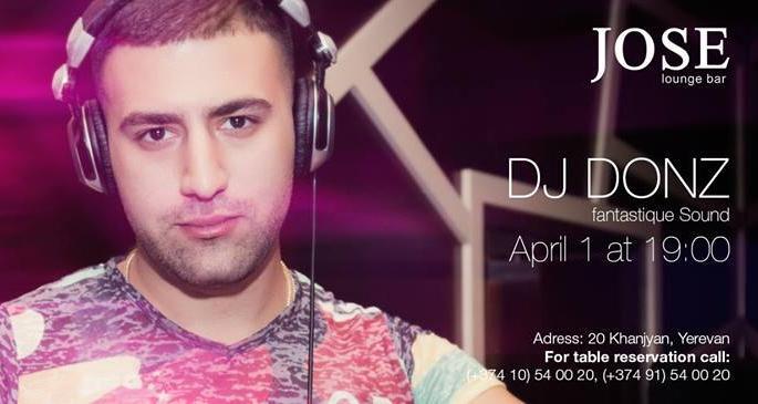 DJ DONZ at Jose Lounge Bar