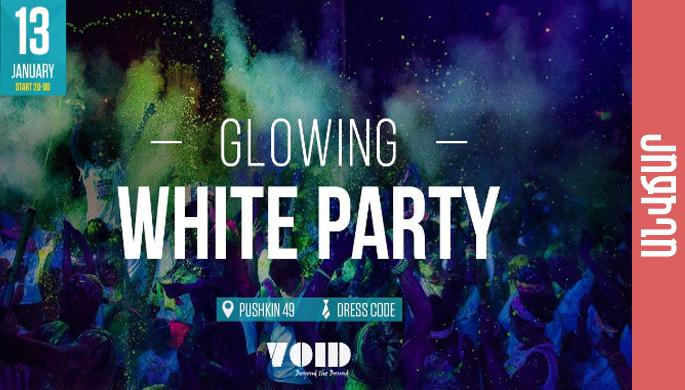 Glowing White Party