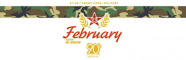 February 23 with DJ DRIVE