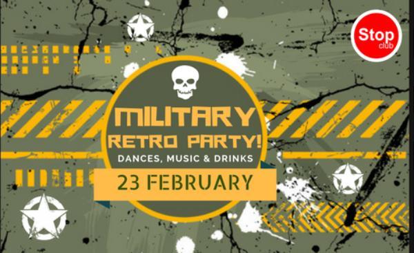 Military Retro Party