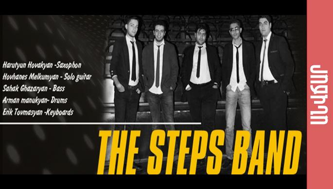 The Steps band at Stop