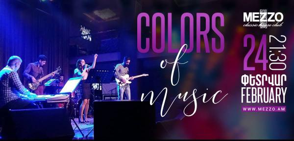 Colors of Music at Mezzo!