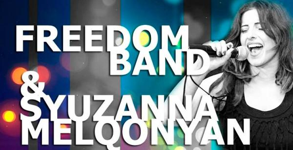 Freedom Band and Syuzanna Melqonyan at Yans Club