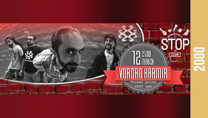 VORDAN KARMIR Live at Stop Club