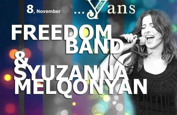 Freedom band & Syuzanna Melqonyan at Yans