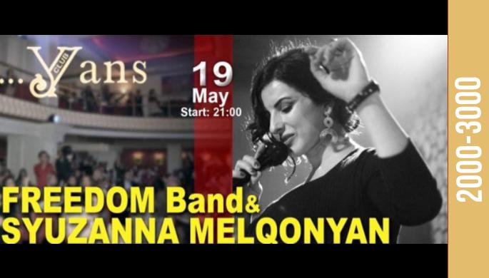 Freedom Band and Syuzanna Melqonyan at Yans Music Hall