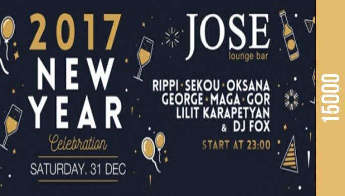 New Year Party at Jose Lounge Bar
