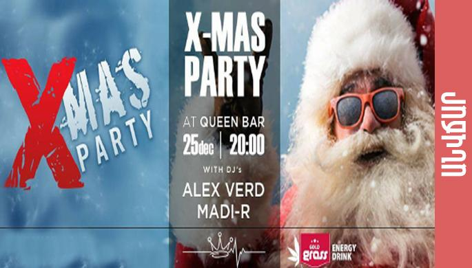 X-MAS Party at Queen Bar