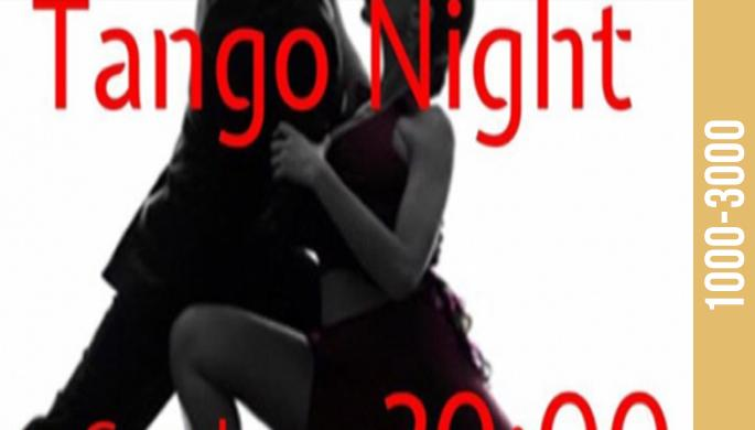 Argentine tango evening at Bar Carola