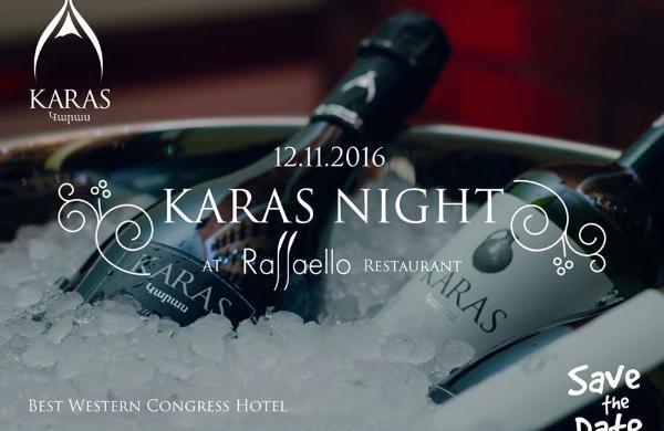 "KARAS Night at ""Raffaello"" Restaurant"