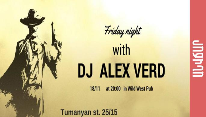 Dance night with dj Alex Verd