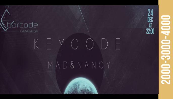 Keycode at Barcode