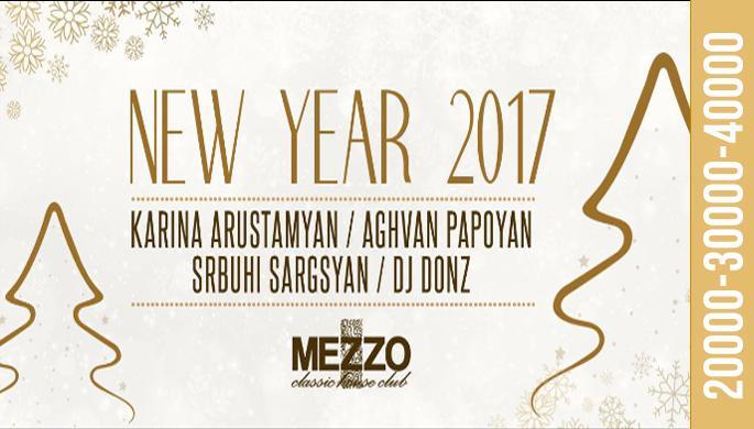 New Year at Mezzo!