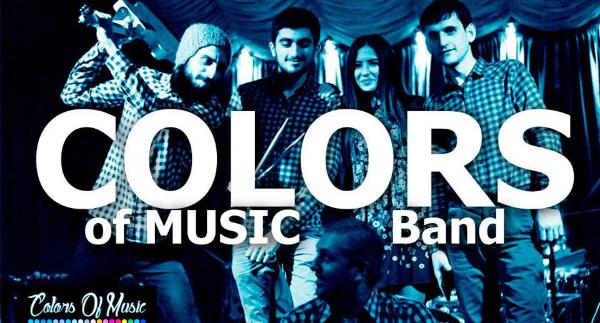 Colors of Music band at Yans Music Hall