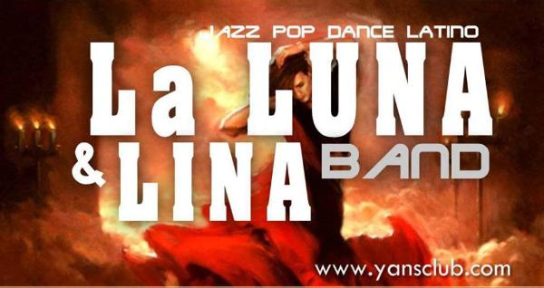 Lina and La Luna Band at Ynas Music Hall
