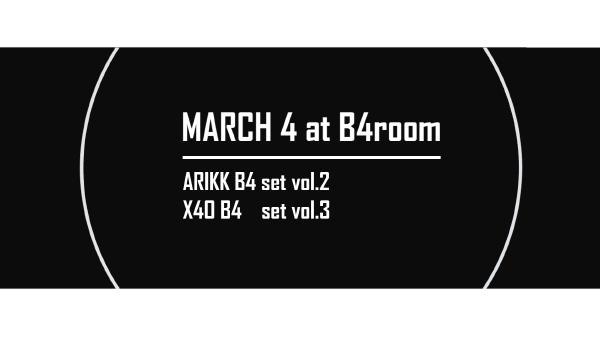 Arik K & X40 B4 set