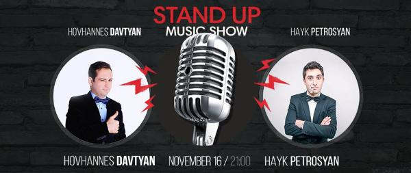 Stand-Up Music Show at Mezzo!