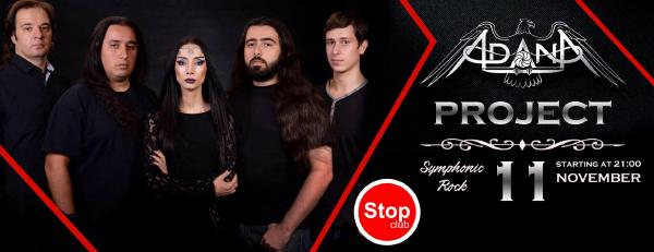 Adana Project: symphonic rock night