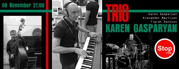 Karen Gasparyan Trio: Jazzzzz