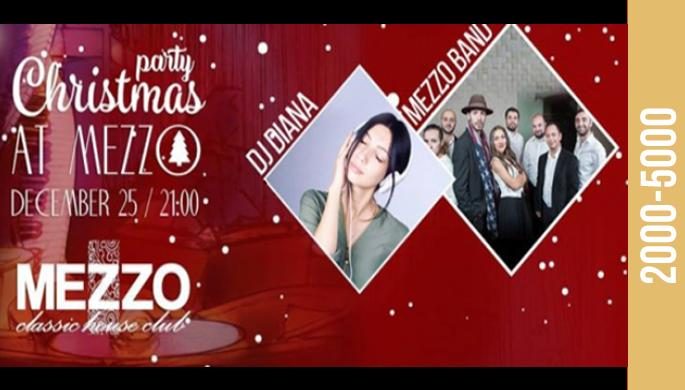 Christmas Party at Mezzo!