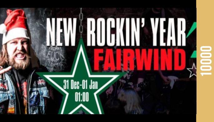 New Rockin' Year: FairWind